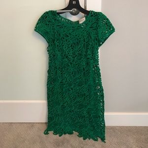 Milly Emerald Green Dress - LIKE NEW